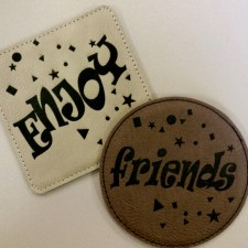 leatherette-coasters